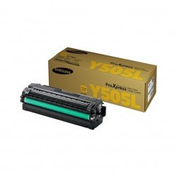 Samsung CLT-Y505L/ELS Yellow Toner Cartridge (3,500 Pages)