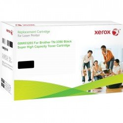 Xerox Replacement for Brother TN3390 Ultra High Yield Black Toner Cartridge (12,000 pages*)