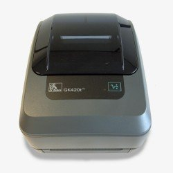Zebra GK420T Thermal Printer (USB, Parallel & Serial) front view