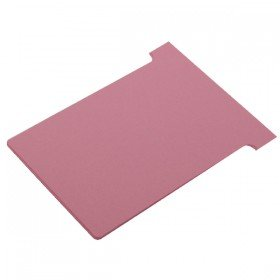 Nobo Size 3 Pink T-Card (100 Pack) 32938916