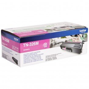 Brother TN326M High Yield Magenta Toner Cartridge (3,500 pages*)