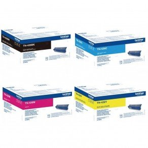 Brother TN426 CMYK High Yield Toner Multipack (Save £10)