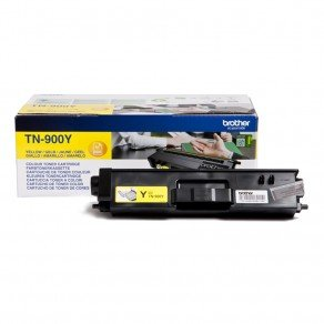 Brother Yellow Toner Cartridge (6,000 pages*)