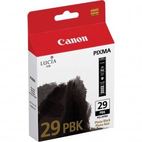 Canon 4869B001AA PGI-29PBK Photo Black Ink Cartridge 4869B001