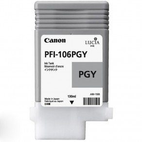 Canon 6631B001 PFI-106PGY Photo Grey Ink Tank (130ml) 6631B001AA
