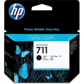 HP 711 High Yield Black Ink Cartridge (80ml)