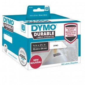 Dymo LabelWriter LW 1933085 Durable Barcode Labels (19x64mm) 900 Labels