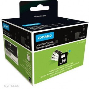 DYMO LabelWriter LW S0929100 Non-Adhesive Appointment Cards 51x89mm (1x 300 labels)