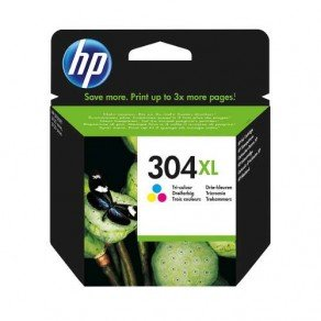 HP N9K07AE 304XL High Yield Colour Ink Cartridge (300 Pages*)