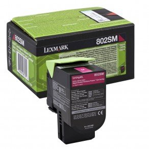 Lexmark Standard Yield Magenta Return Program Toner Cartridge (2,000 pages*)