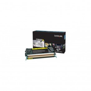 Lexmark High Yield Yellow Toner Cartridge (10,000 pages*)