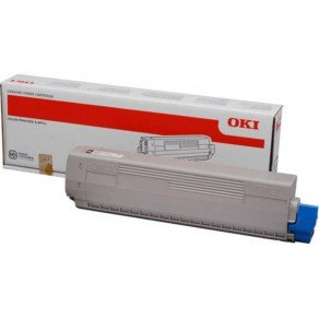 Oki 44844508 Black Toner Cartridge (10,000 pages*)