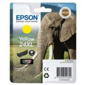 Epson T2434 High Yield 24XL Yellow Ink Cartridge (8ml)