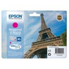 Epson T7023 High Yield Magenta Ink Cartridge (2,000 pages*)