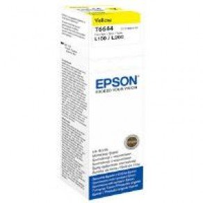 Epson T6644 Yellow Ink Bottle (6,500 pages*)