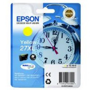 Epson C13T27144010 27XL Yellow Ink Cartridge (10.4ml)