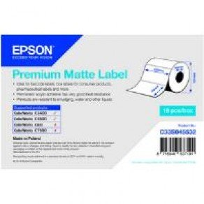 Epson Premium Matte Label - 102mm x 76mm (440 labels)