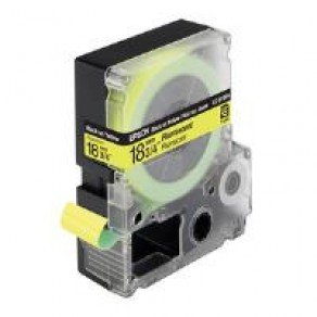 Epson LC-5YBF9 - 18mm x 9m - Black on Yellow Tape C53S626402
