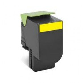 Lexmark 70C20Y0 Standard Yield Yellow Return Program Toner Cartridge (1,000 pages*)