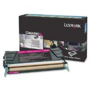 Lexmark C746A1MG Standard Yield Magenta Return Program Toner Cartridge (7,000 pages*)