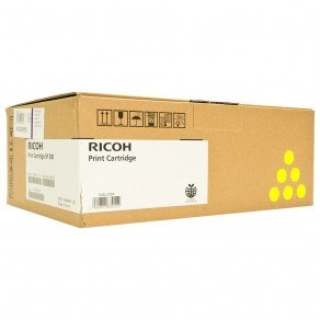 Ricoh 407719 SPC252HE Yellow Toner Cartridge (6,000 pages*)