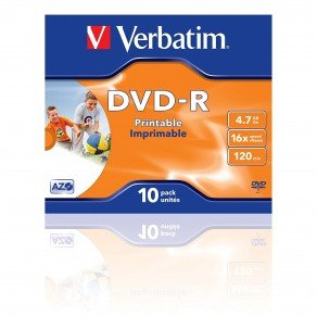 Verbatim VM35211 Jewell Case 10 Pack (4.7gb, 16x Speed)