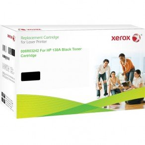 Xerox Replacement for HP 130A (CF350A) Black Toner Cartridge (1,400 Pages*)