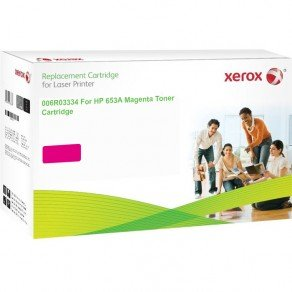 Xerox Replacement for HP 653A (CF323A) Magenta Toner Cartridge (17,100 Pages*)