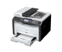 Ricoh SP 213SFW A4 Mono Laser Multifunction Printer left view
