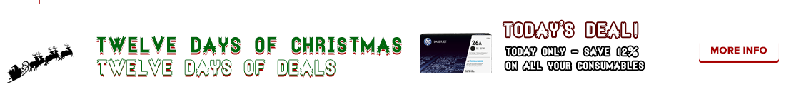 12 Days of Chirstmas! - 12 Days of Deals!
