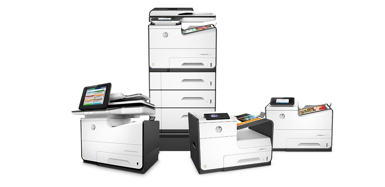 HP Pagewide printer family