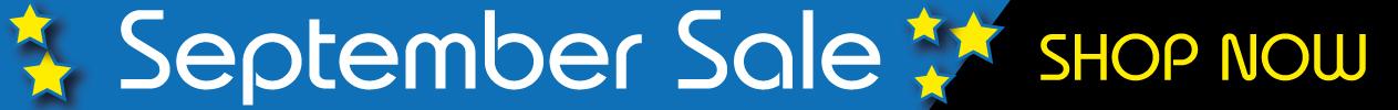 September Sale 2021 banner