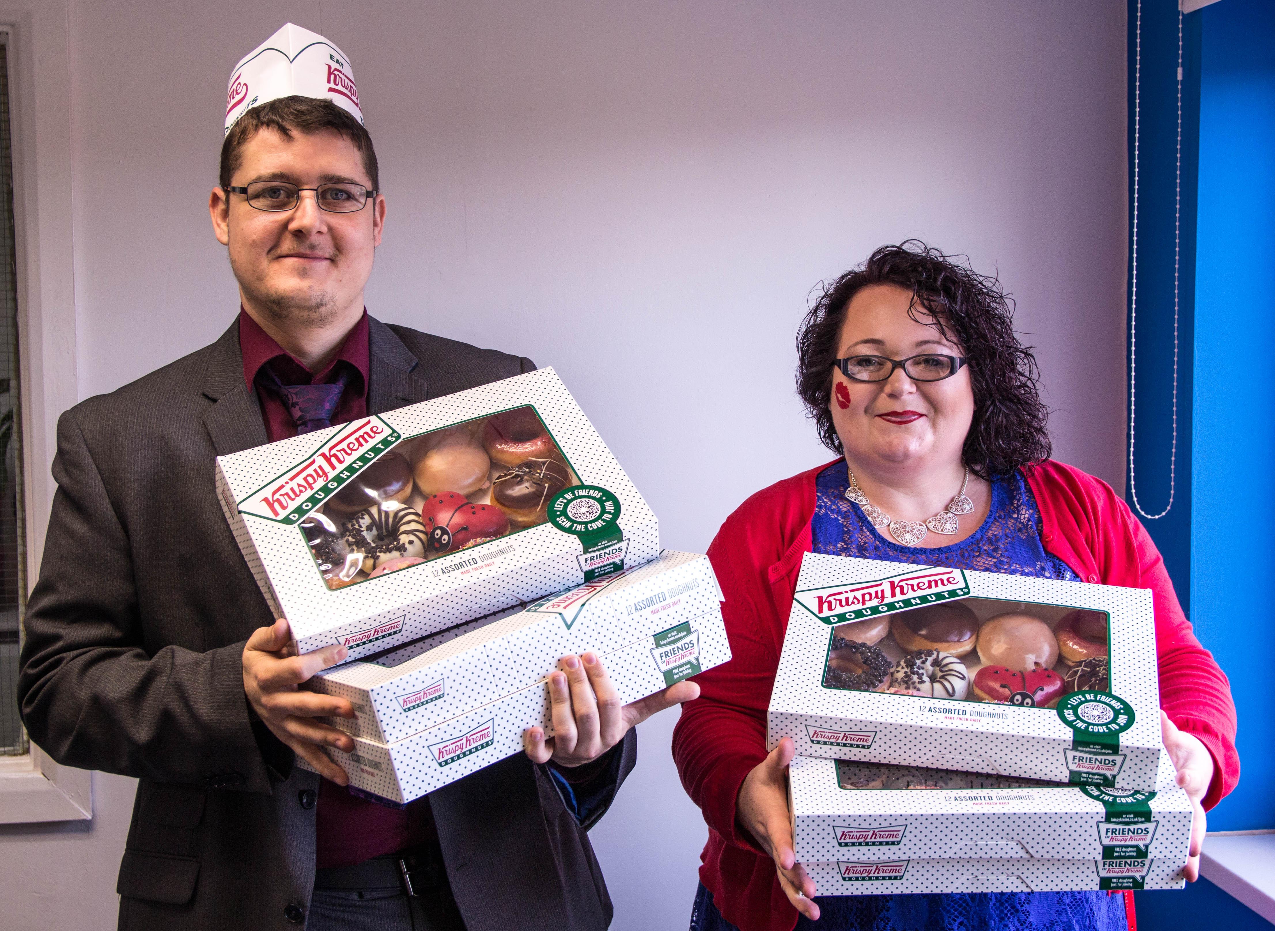 Doughnut Street Team - Chris Hall & Lisa Anderson