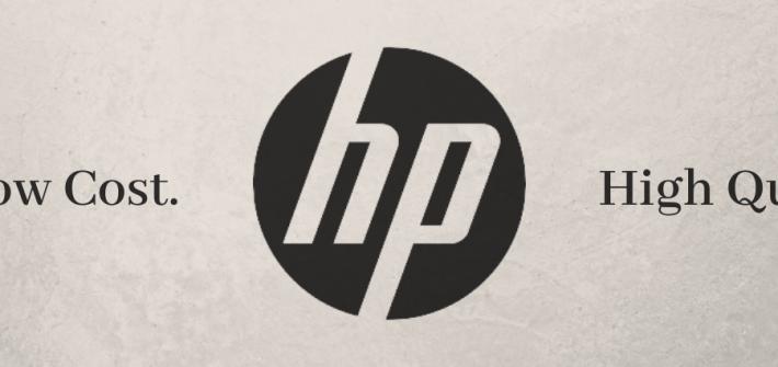 HP cheap banner