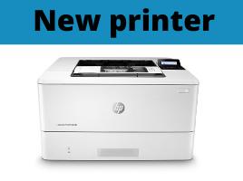 New HP printer